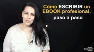 escribir ebook profesional