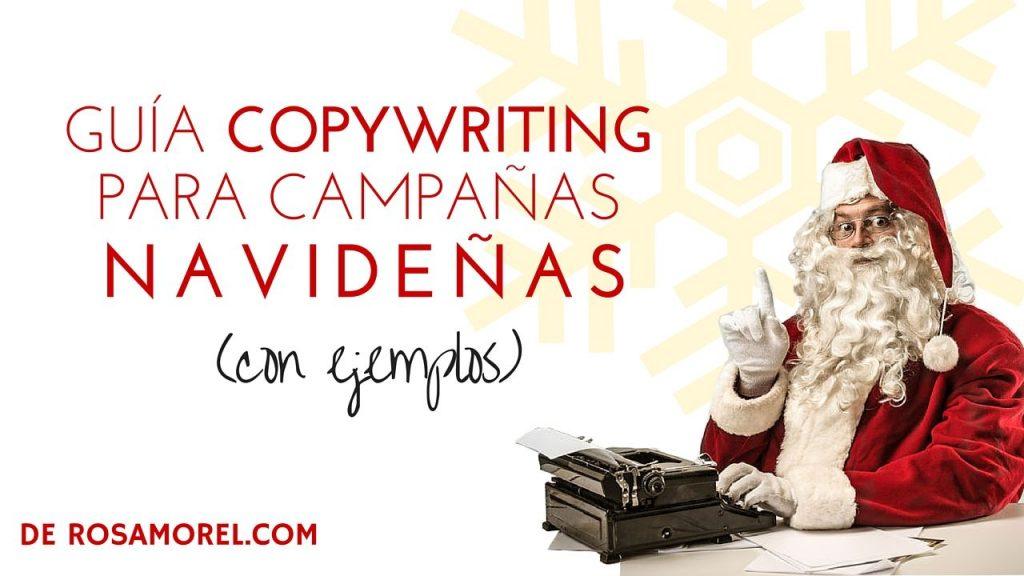 Guía Copywriting Web para Campañas Navideñas con Ejemplos -