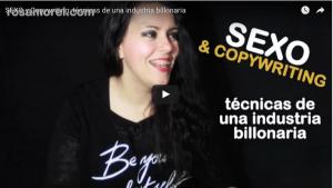 escribir publicidad sector sexo