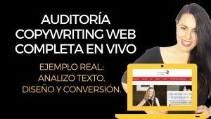 [VÍDEO] Auditoría copywriting web COMPLETA