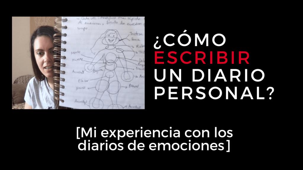 como escribir un diario personal o diario de emociones