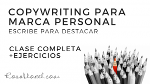 [CLASE COMPLETA] Copywriting para marca personal + ejercicios