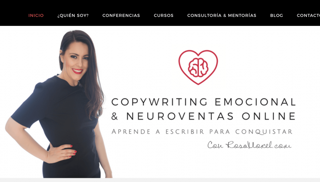 verbos de accion en español copywriting