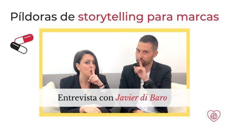 Storytelling para marcas con Javier Di Baro