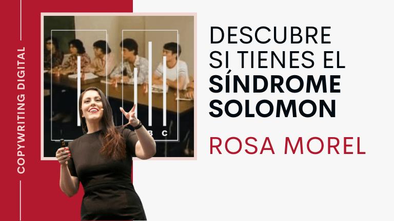 Descubre si tienes el síndrome de Solomon