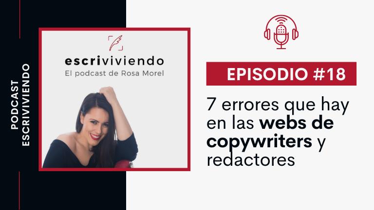 7 errores típicos en las webs de copywriters y redactores